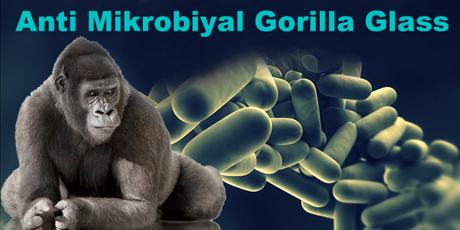 Antimikrobiyal Gorilla Glass Anti microbial